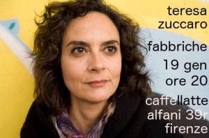 Teresa Zuccaro al Caffellatte di Firenze